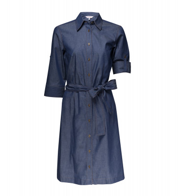 Heidelberg Blusenkleid  in Denim-Optik